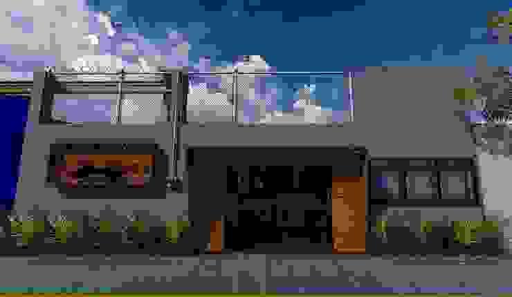 H+R ARQUITECTOS Casas de estilo moderno