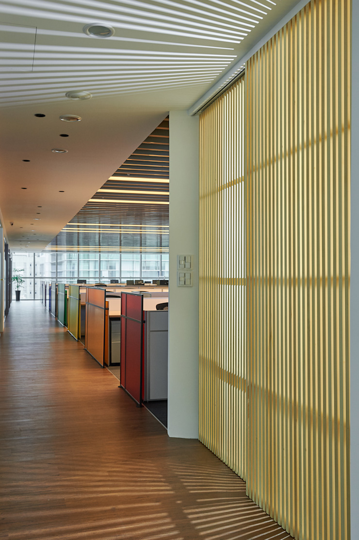 辦公區走道 Modern style study/office by CCL Architects & Planners林祺錦建築師事務所 Modern