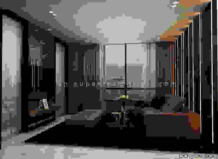 Up Ekamai Condominium โดย SPOO@DESIGN รับออกแบบตกแต่งภายใน