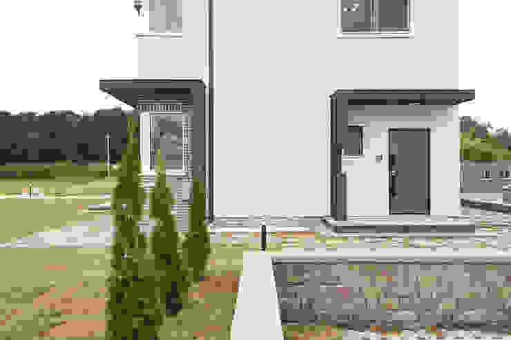 Rumah Modern Oleh 인우건축사사무소 Modern