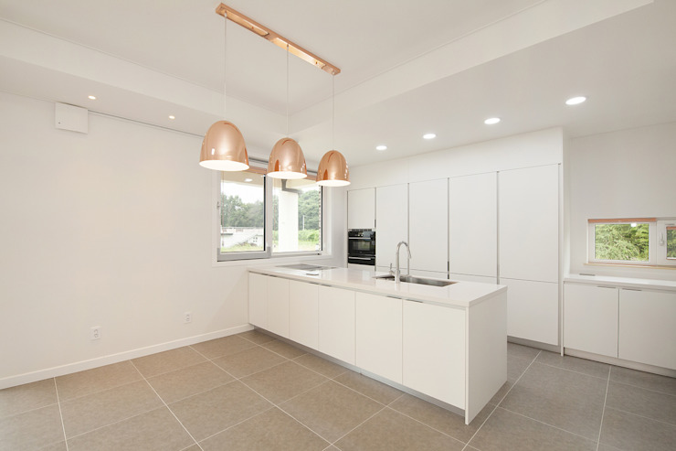 Keuken door 인우건축사사무소, Modern