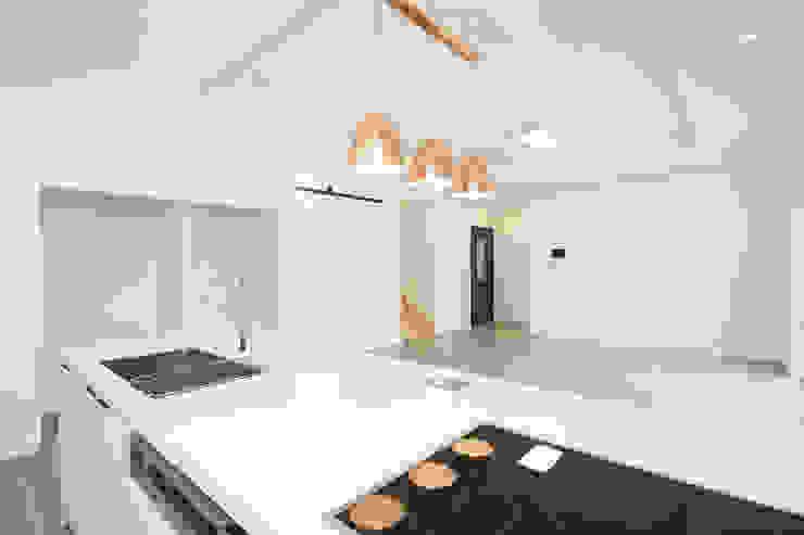 Dapur Modern Oleh 인우건축사사무소 Modern