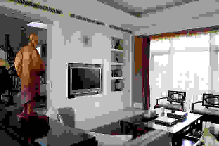 客廳電視牆 根據 漢品室內設計 古典風