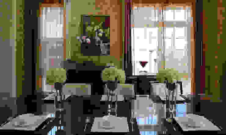 餐廳主題牆面 根據 漢品室內設計 古典風