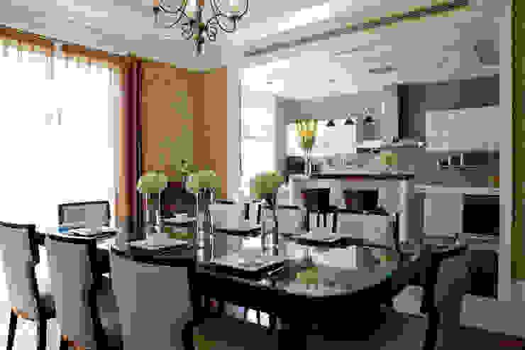 餐廳吧台 根據 漢品室內設計 古典風