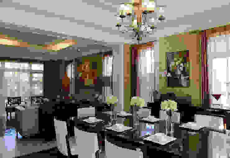 客餐廳 根據 漢品室內設計 古典風