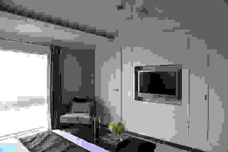 主臥電視牆面 根據 漢品室內設計 古典風