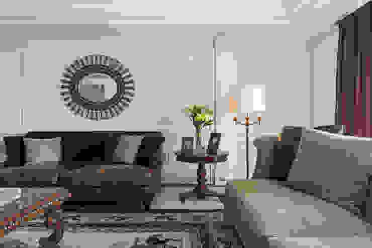 客廳壁板 根據 漢品室內設計 古典風