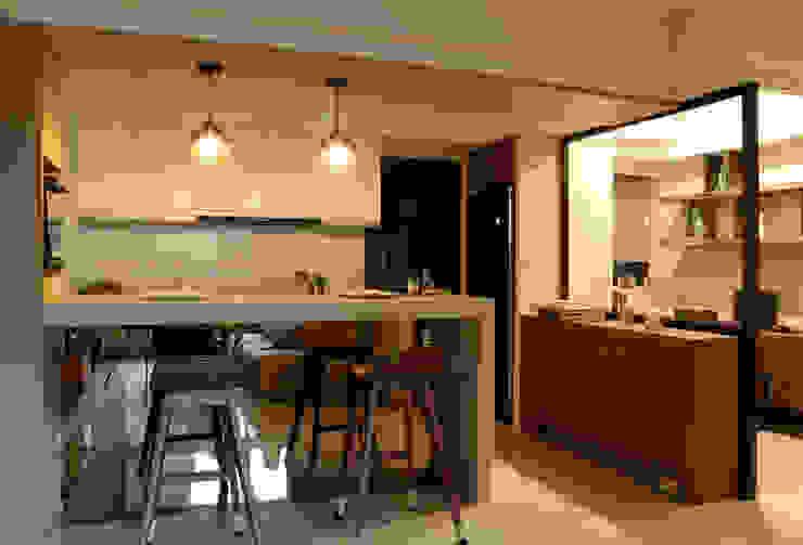 廚房機能 根據 漢品室內設計 現代風