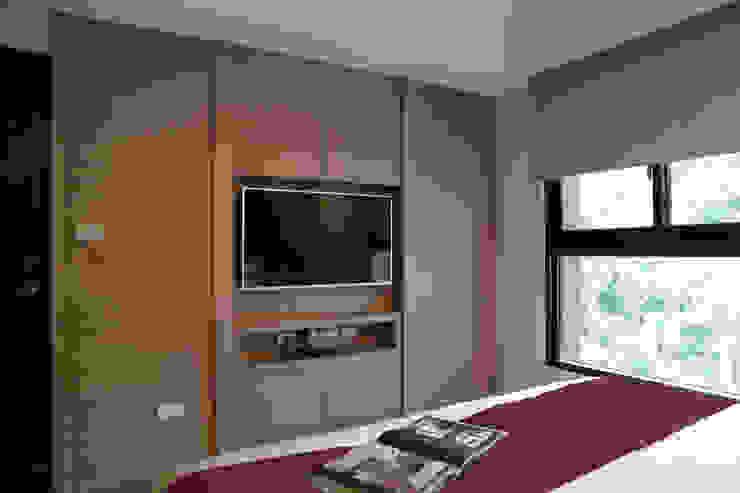 主臥電視牆 根據 漢品室內設計 現代風