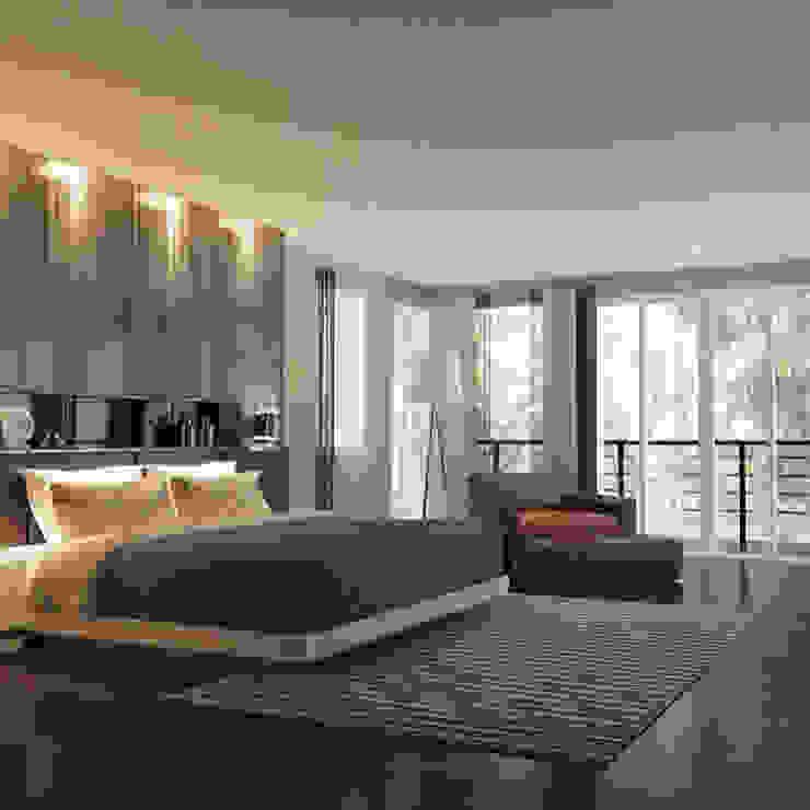 ผลงานออกแบบห้องนอน: คลาสสิก  โดย บริษัท ซี.เอส.เอ็น.อินเตอร์เนชั่นแนล จำกัด, คลาสสิค