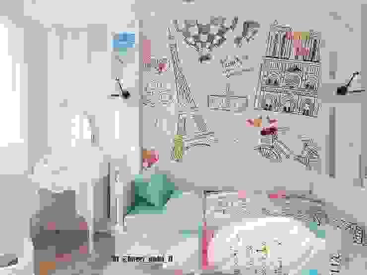 Habitaciones para niños de estilo clásico de Diveev_studio#ZI Clásico