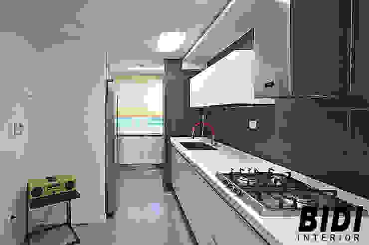 망원동 대림 아파트 모던스타일 주방 by 인테리어비디 모던
