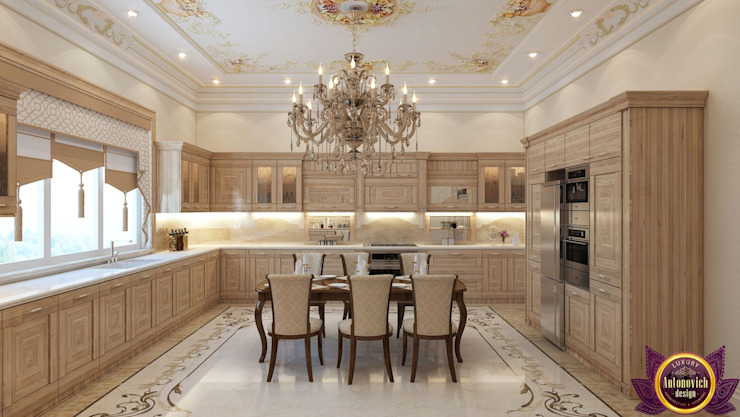 ​ Design Ideas for large kitchen of Katrina Antonovich by Luxury Antonovich Design Classic