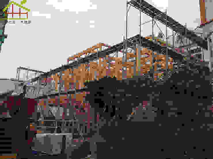 日式木結構-客製化設計 根據 詮鴻國際住宅股份有限公司 日式風、東方風