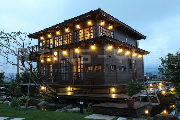 【木建築】宜蘭三星鄉│羅宅│獨棟別墅│建坪126坪 根據 閮檍設計 Ting Yi Design