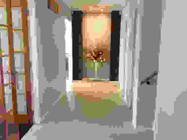 家聚昇溫 斯堪的納維亞風格的走廊,走廊和樓梯 根據 耀昀創意設計有限公司/Alfonso Ideas 北歐風