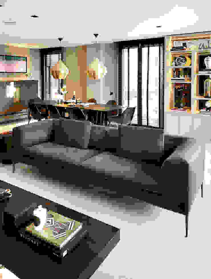 living room Modern living room by Esra Kazmirci Mimarlik Modern Marble