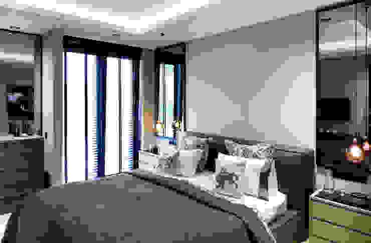 master bedroom Modern style bedroom by Esra Kazmirci Mimarlik Modern