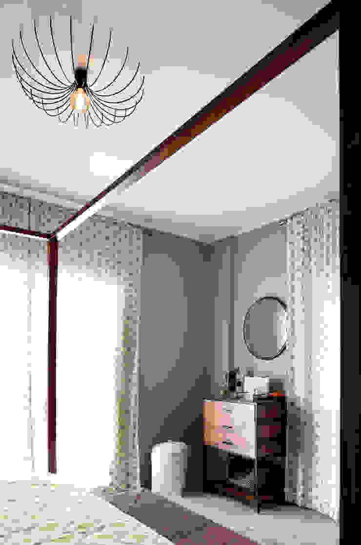 EK SUMMER HOUSE Mediterranean style bedroom by Esra Kazmirci Mimarlik Mediterranean
