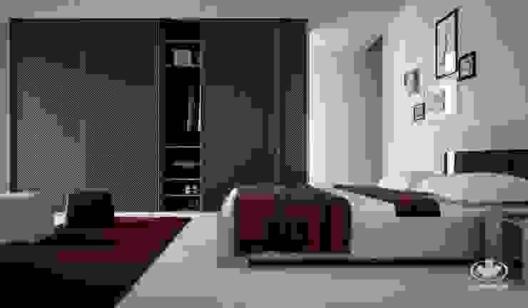 Komandor - Wnętrza z charakterem BedroomBeds & headboards Chipboard Blue