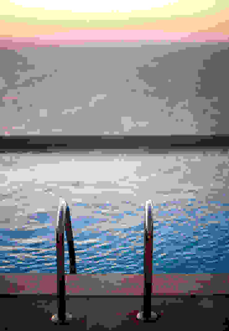 EK SUMMER HOUSE Mediterranean style pool by Esra Kazmirci Mimarlik Mediterranean
