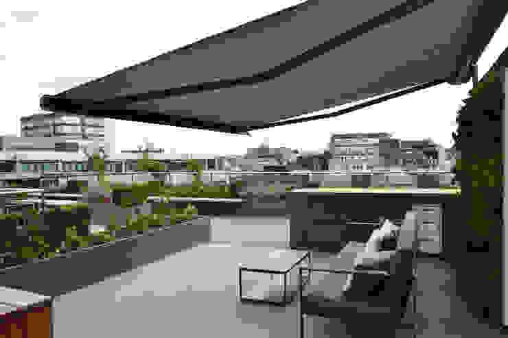 Ganton Street Roof Terrace London Aralia Commercial Spaces Stone Grey