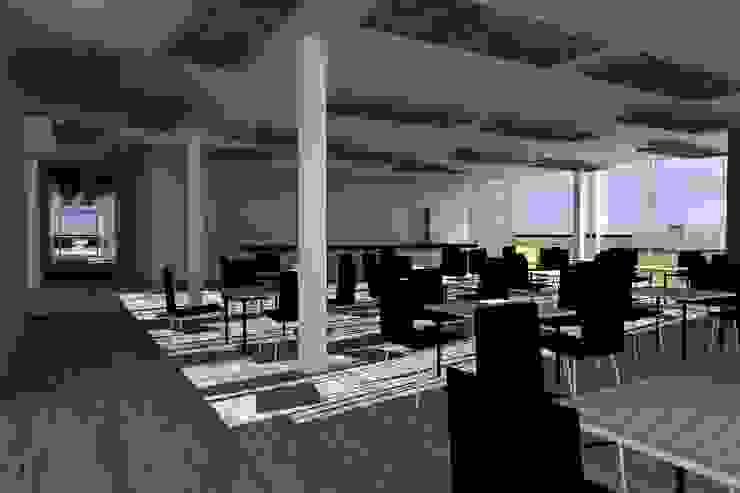 Club House Restaurant Chamonate de homify Minimalista Vidrio