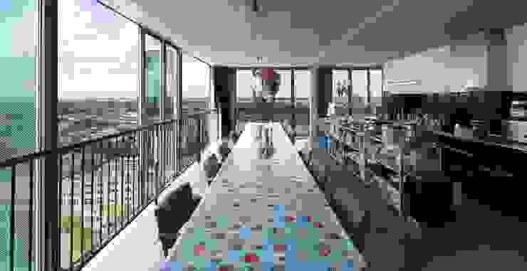Schiecentrale 4B Industriële woonkamers van Mei architects and planners Industrieel