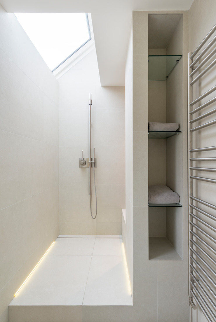 Shower Room DDWH Architects Baños de estilo moderno