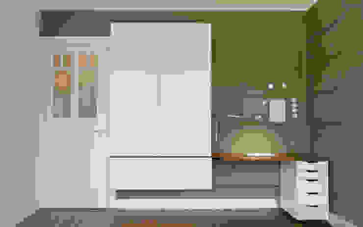 Minioffice Moderne Wohnzimmer von studio jan homann Modern