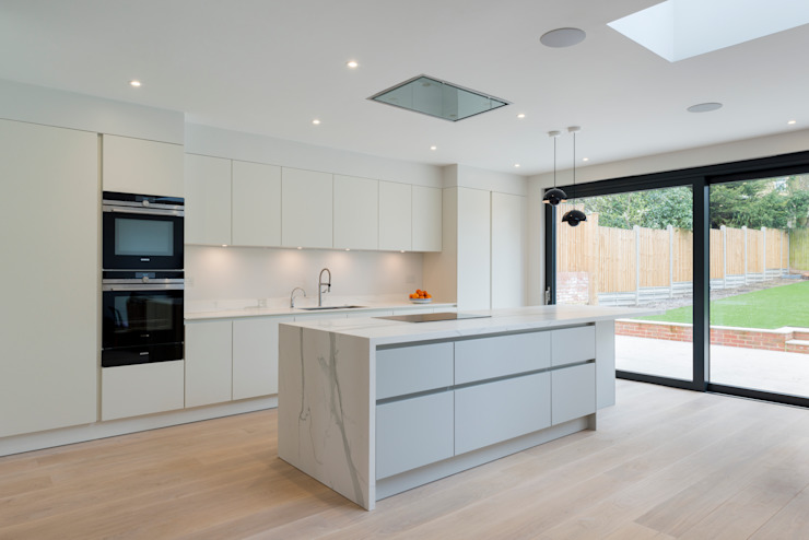 North London house refurbishment DDWH Architects Modern kitchen