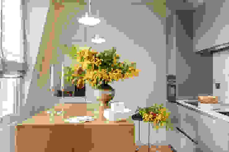Penthouse Apartment Chelsea Modern study/office by Studio 29 Architects ltd Modern Metal
