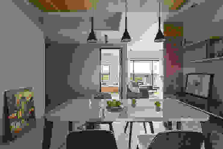 賀澤室內設計 HOZO_interior_design 根據 賀澤室內設計 HOZO_interior_design 現代風