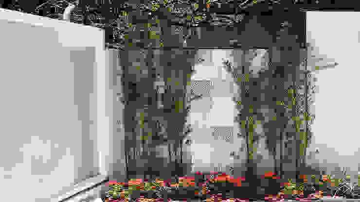 สวน โดย Luiz Coelho Arquitetura,
