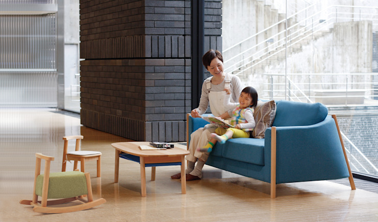 Lucca NDstyle./NODA FURNITURE co.,ltd. リビングルームソファー&アームチェア