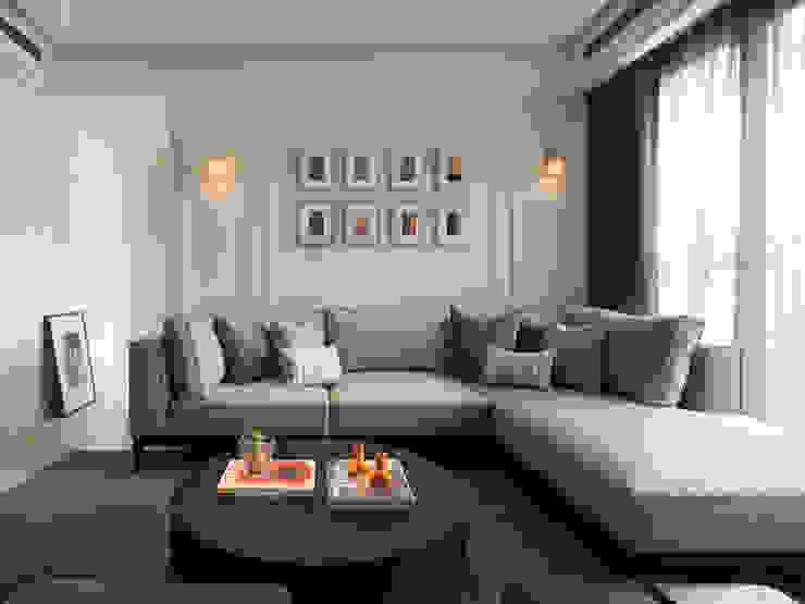 Salas de estilo clásico de 大觀室內設計工程有限公司 Clásico