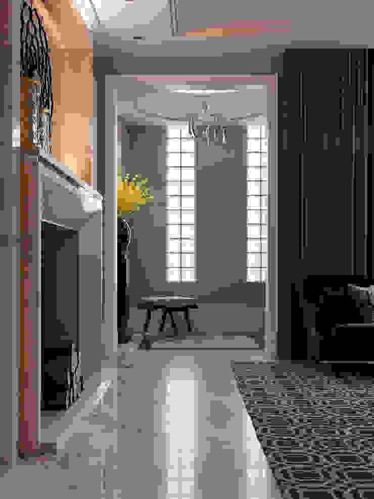 法蘭朵 經典風格的走廊,走廊和樓梯 根據 大觀室內設計工程有限公司 古典風