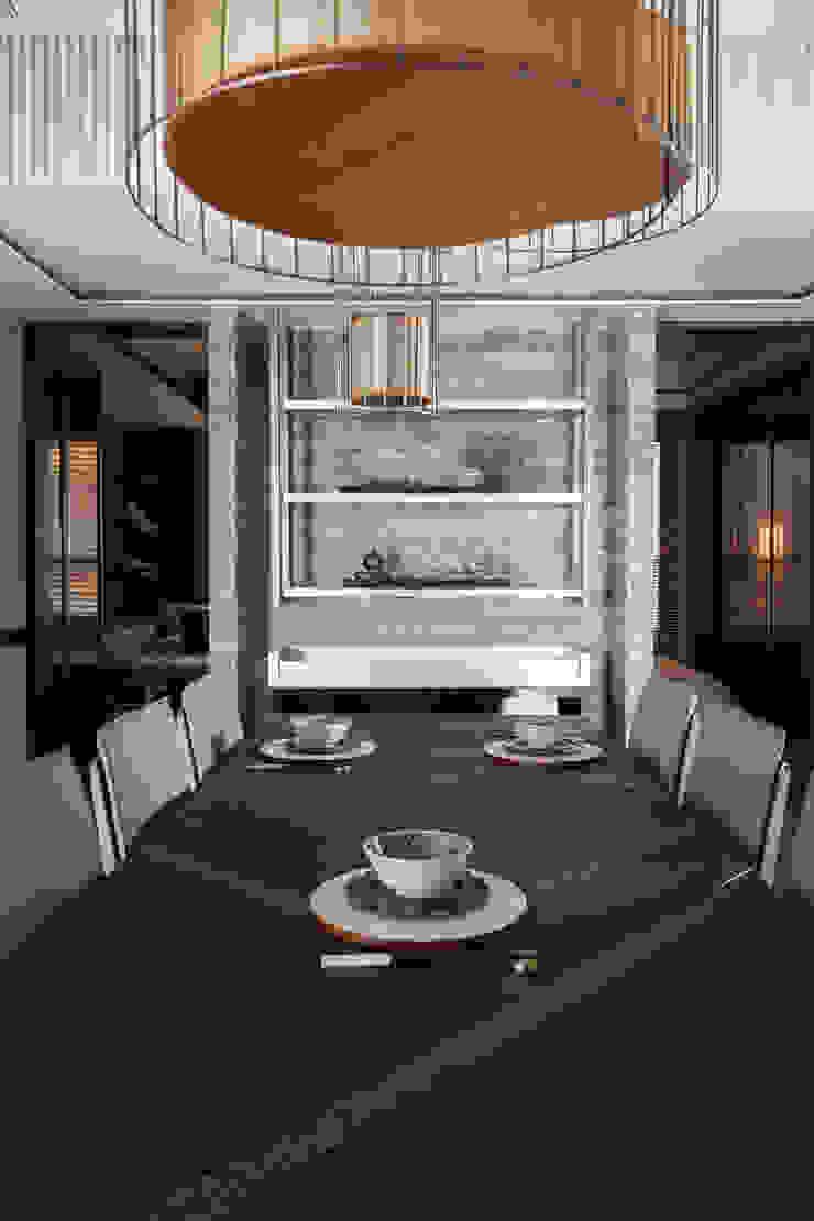 雙水灣 根據 大觀室內設計工程有限公司 日式風、東方風