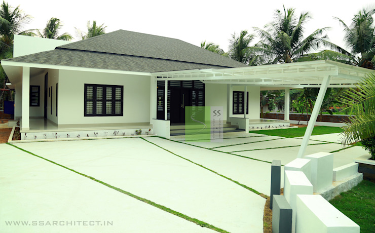 Rumah Modern Oleh SS ARCHITECTS & ENGINEERS Modern