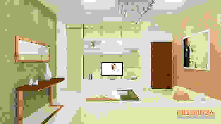 Living Room Modern living room by Kredenza Interior Studios Modern