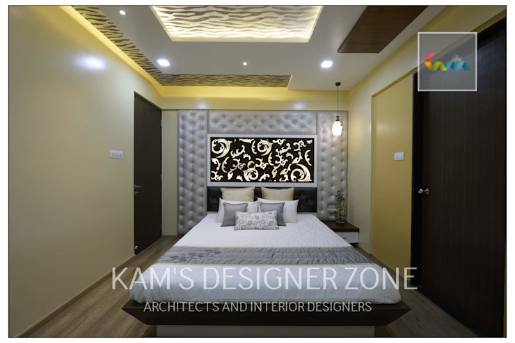 Bedroom Interior Design Modern style bedroom by KAM'S DESIGNER ZONE Modern