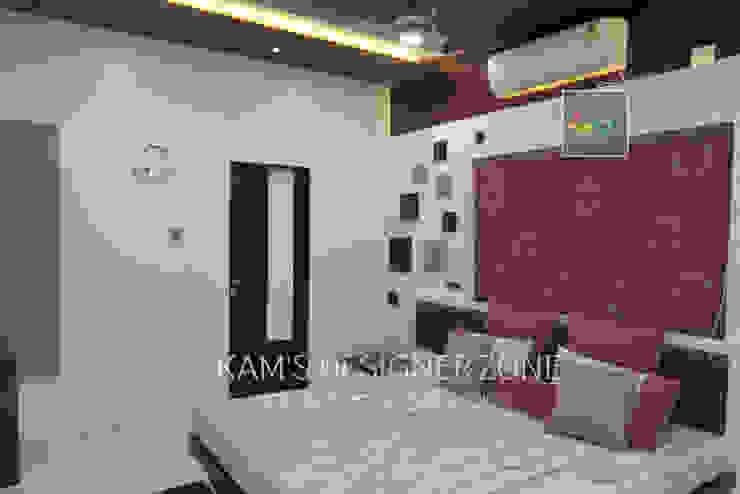 Bedroom Interior Design Modern windows & doors by KAM'S DESIGNER ZONE Modern