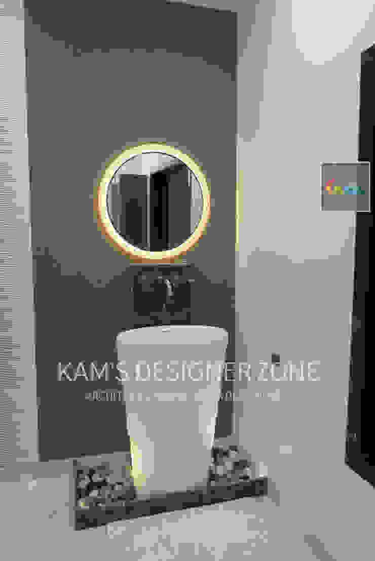 Basin Area Modern bathroom by KAM'S DESIGNER ZONE Modern