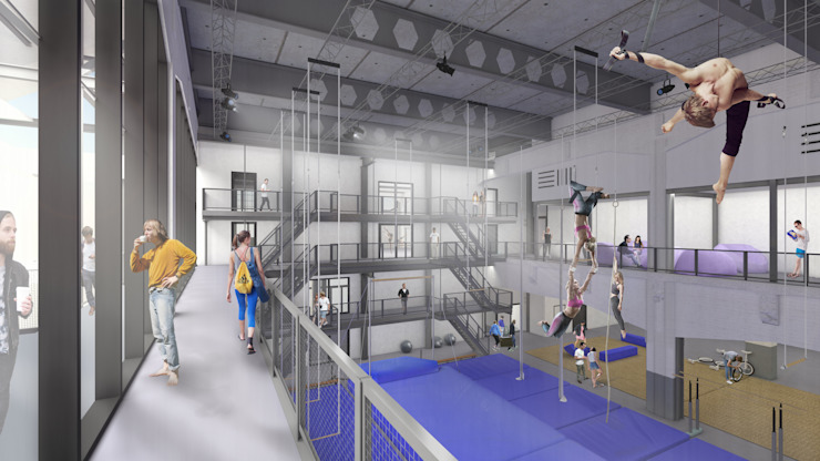 Fenix I Moderne fitnessruimtes van Mei architects and planners Modern