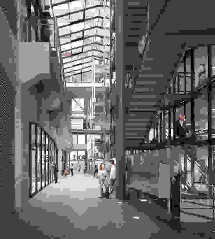 Fenix I Moderne gangen, hallen & trappenhuizen van Mei architects and planners Modern