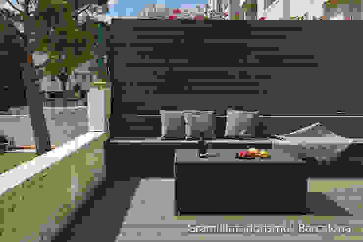 Varandas, alpendres e terraços minimalistas por Gramil Interiorismo II - Decoradores y diseñadores de interiores Minimalista