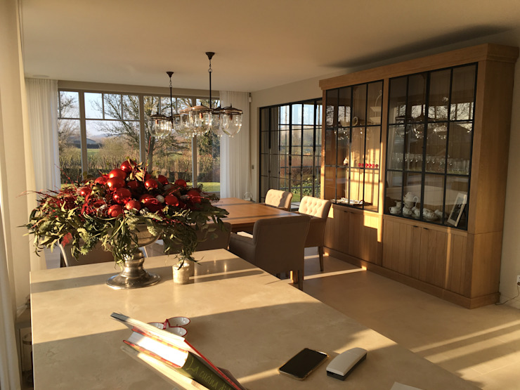 Country style dining room by A2S ARCHITECTEN Country