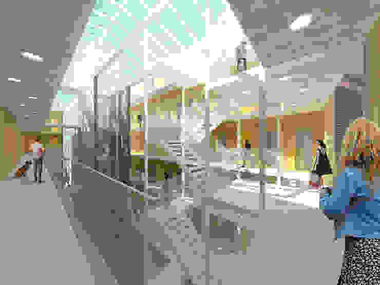 Het Kaaspakhuis Moderne gangen, hallen & trappenhuizen van Mei architects and planners Modern