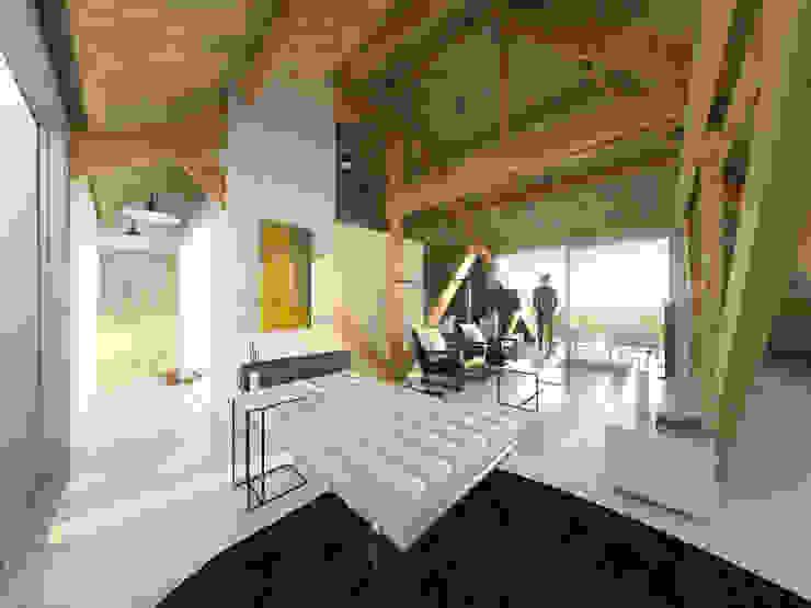 Het Kaaspakhuis Moderne woonkamers van Mei architects and planners Modern